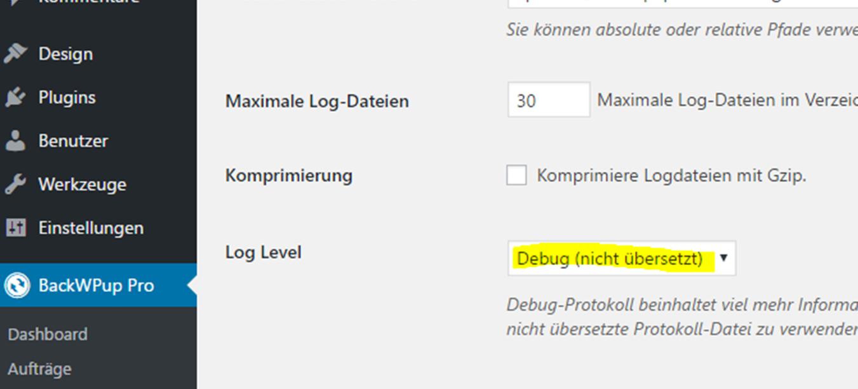 Debug (nicht übersetzt)