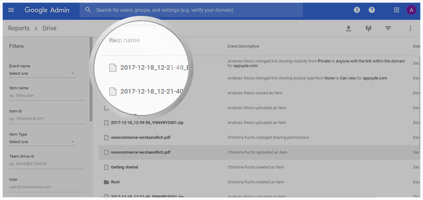 Google Drive Audit Log - Google Drive Audit Reports