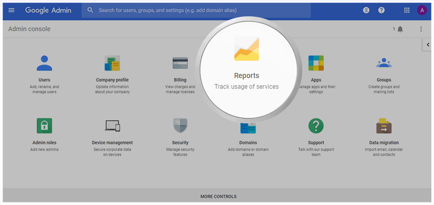 Google Drive Audit Log - Google Admin Dashboard