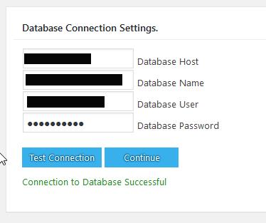 BackWPup Restore Datenbankverbindung prüfen